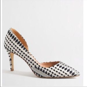 NIB J. Crew Factory D'Orsay pump heels 7.5